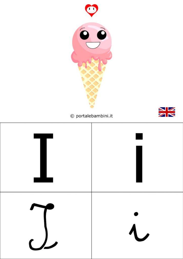 alfabetiere inglese da stampare i