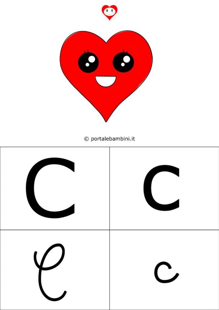 alfabetiere da stampare lettera c