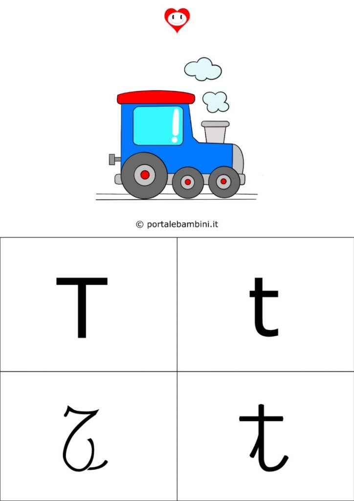 alfabetiere da stampare t