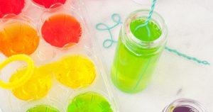 bolle di sapone colorate e profumate
