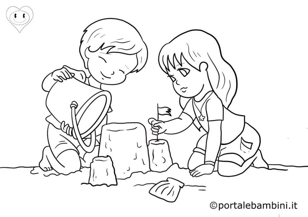 disegni sull'estate da colorare 4