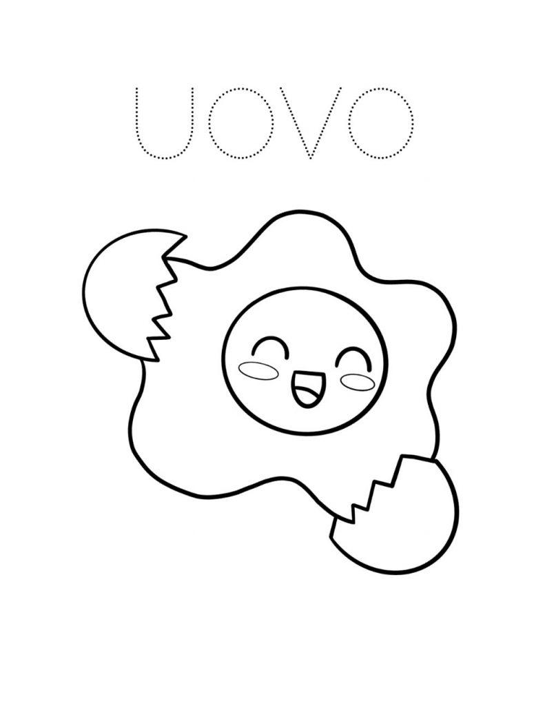 disegni kawaii da colorare 1
