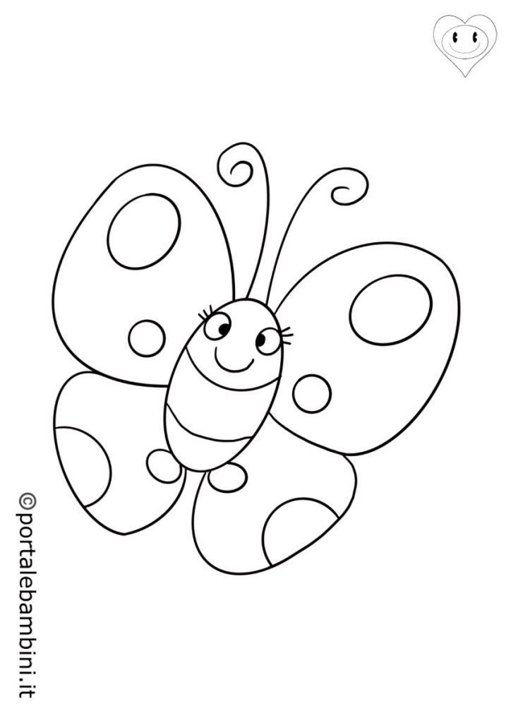 farfalle da colorare 1