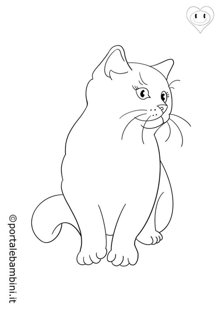 gatti da colorare 2