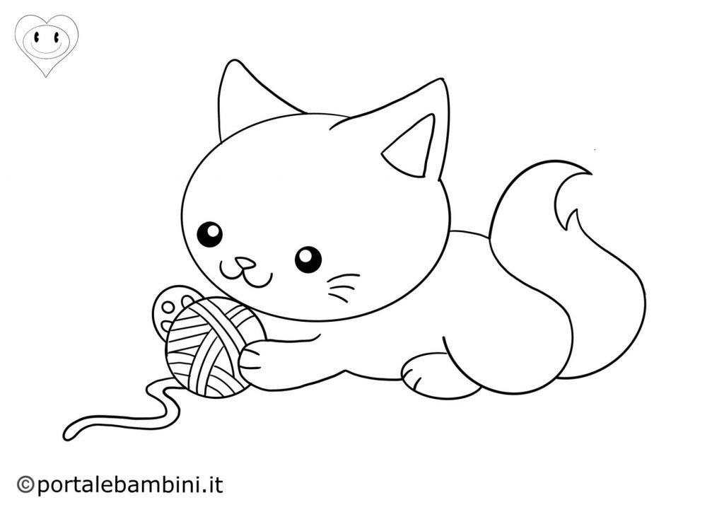 gatti da colorare 5