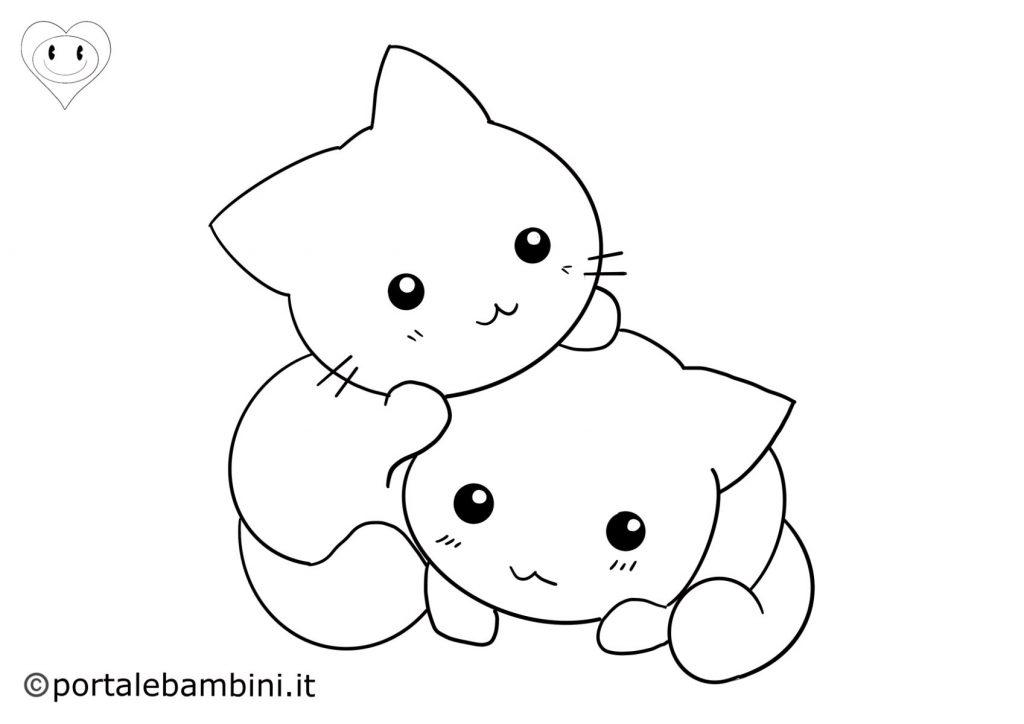gatti da colorare 6