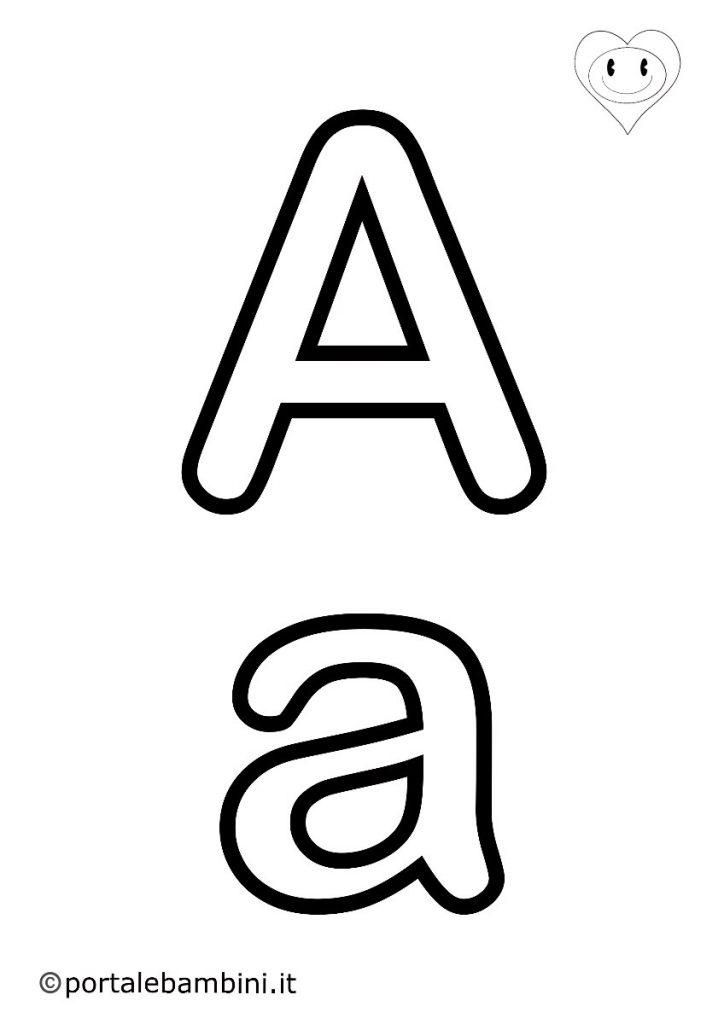 lettere da colorare a