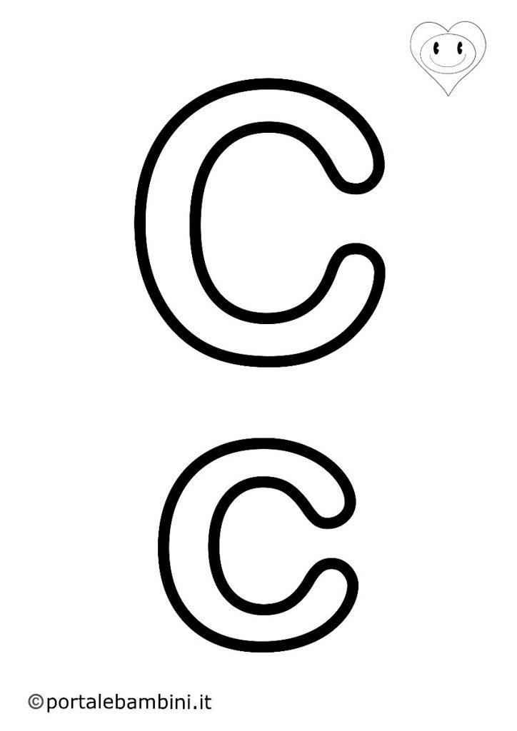 lettere da colorare c