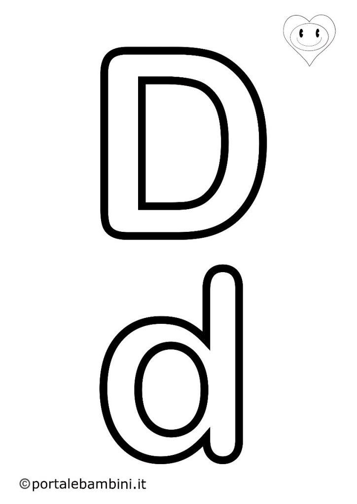 lettere da colorare d