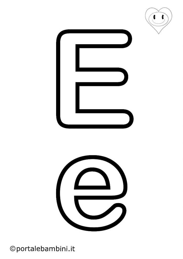 lettere da colorare e