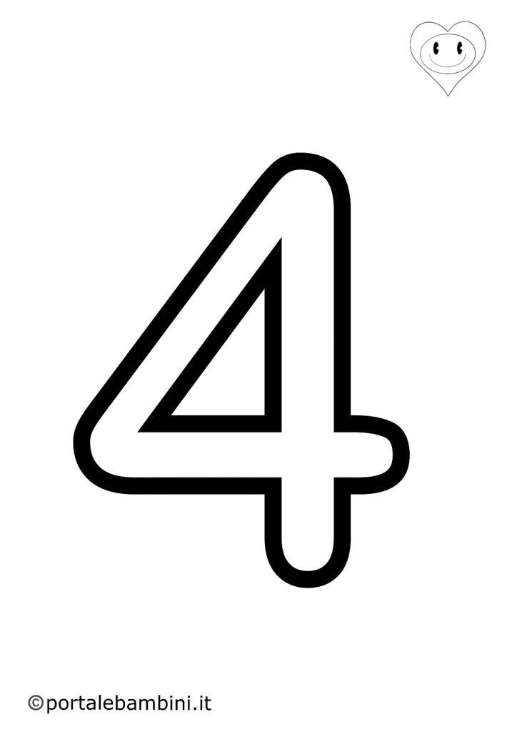 numeri da colorare 4
