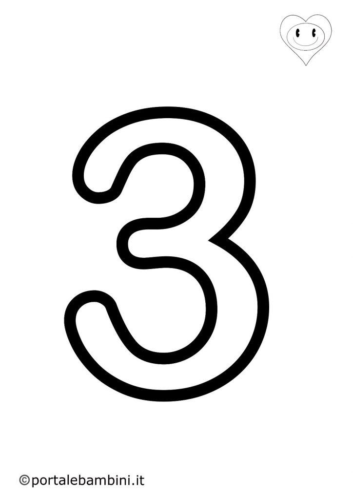 numeri da colorare 3