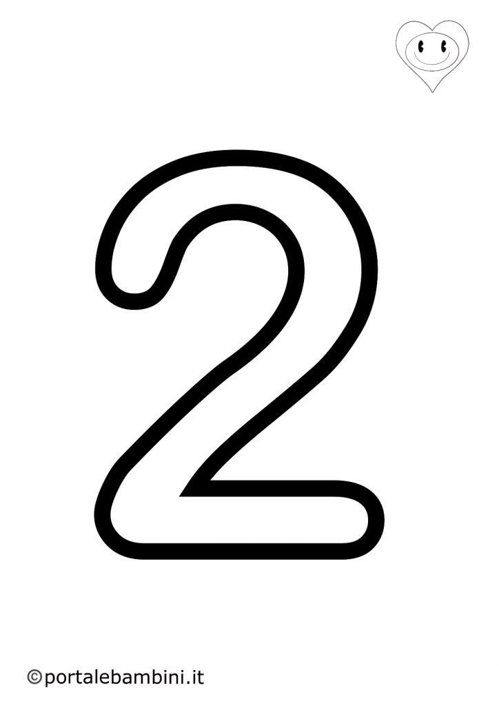 numeri da colorare 2