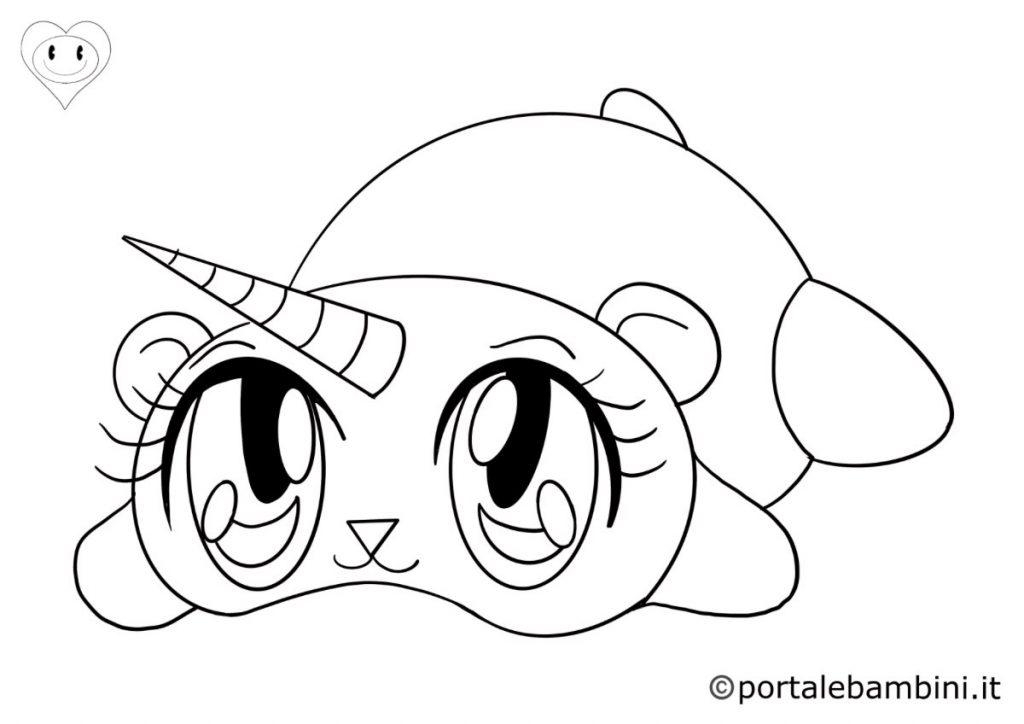 pandacorni da colorare 1