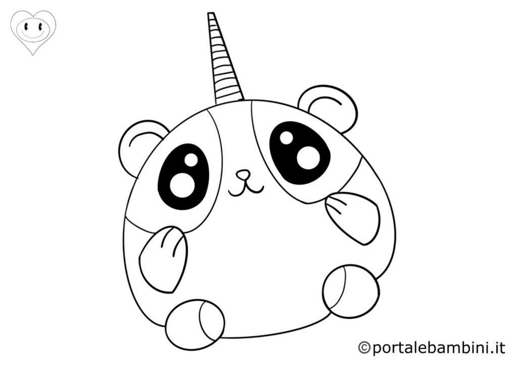 pandacorni da colorare 3