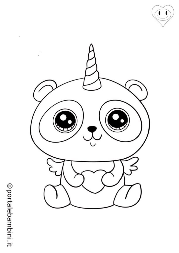 pandacorni da colorare 5