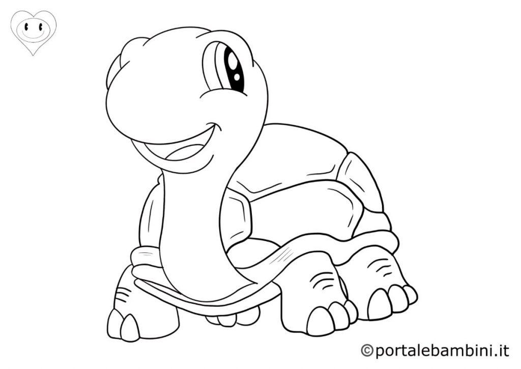 rettili da colorare tartarughe