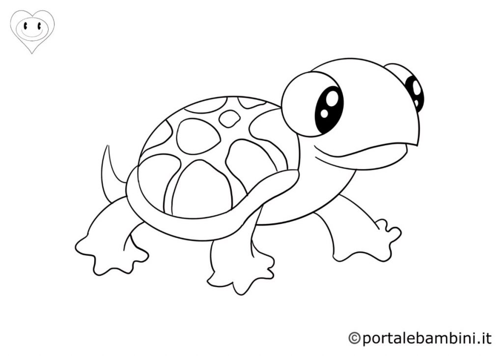 tartarughe da colorare 2
