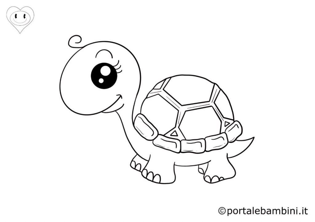 tartarughe da colorare 3