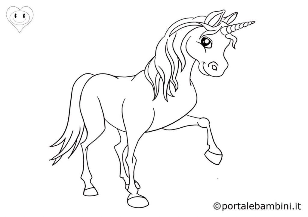 unicorni da colorare 3