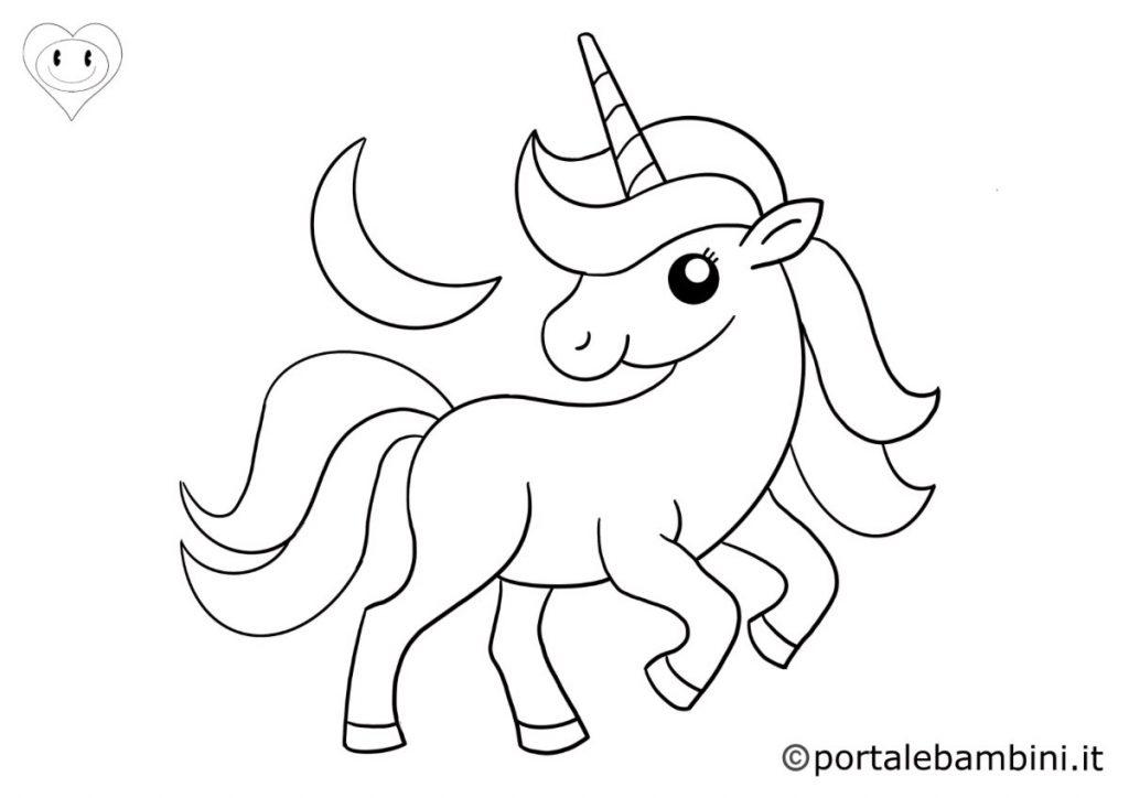 unicorni da colorare 2