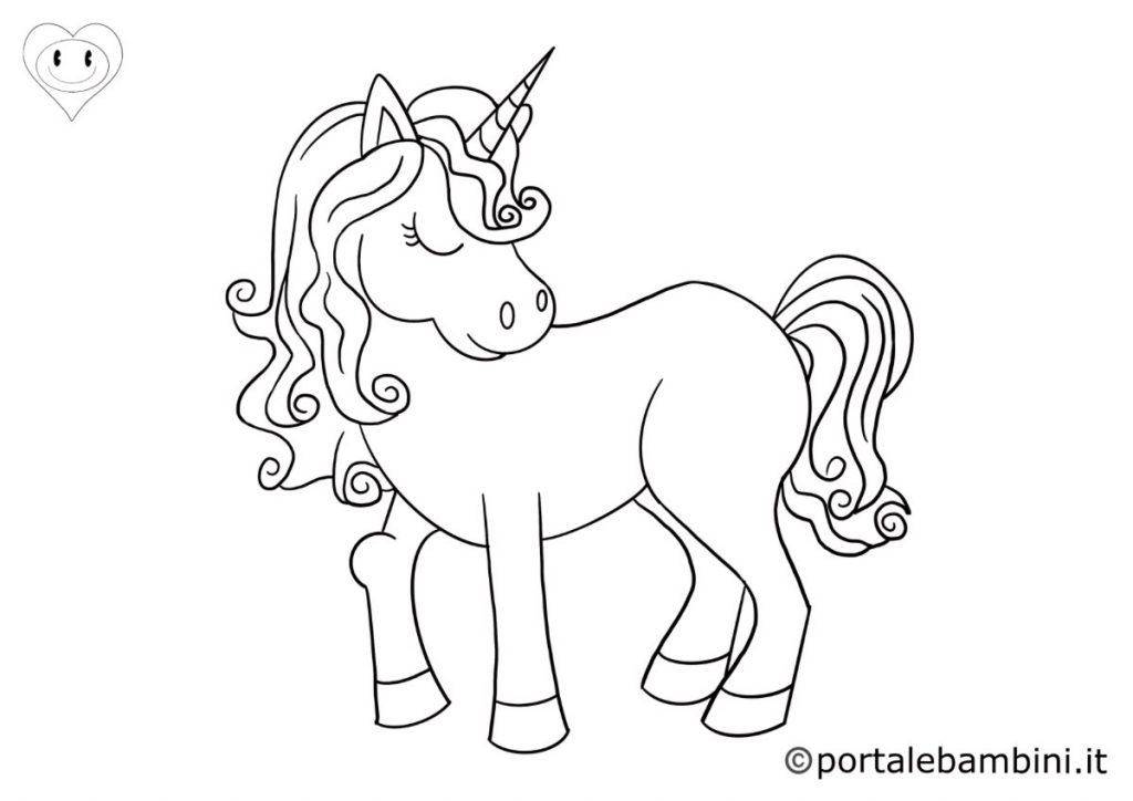 unicorni da colorare 1