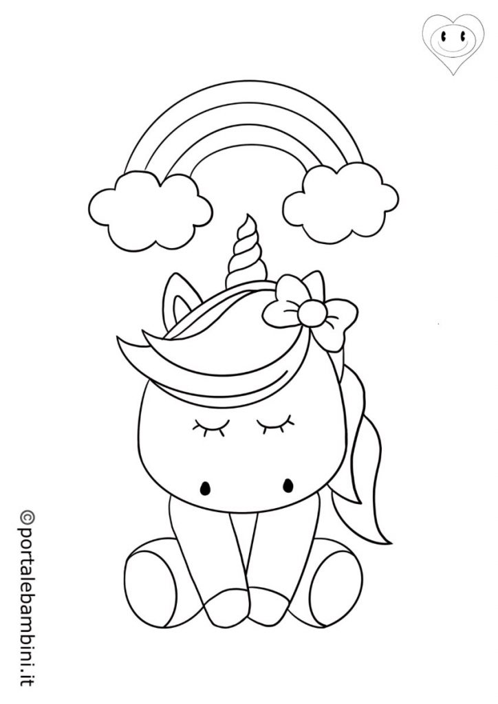 unicorni da colorare 6