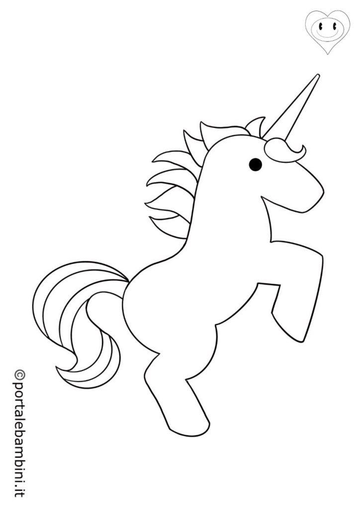 unicorni da colorare 5