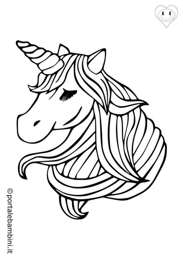 unicorni da colorare 4