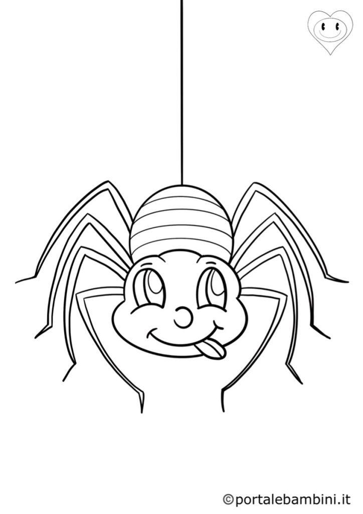 ragni da colorare 1
