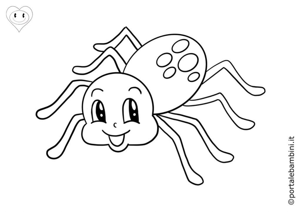 ragni da colorare 4