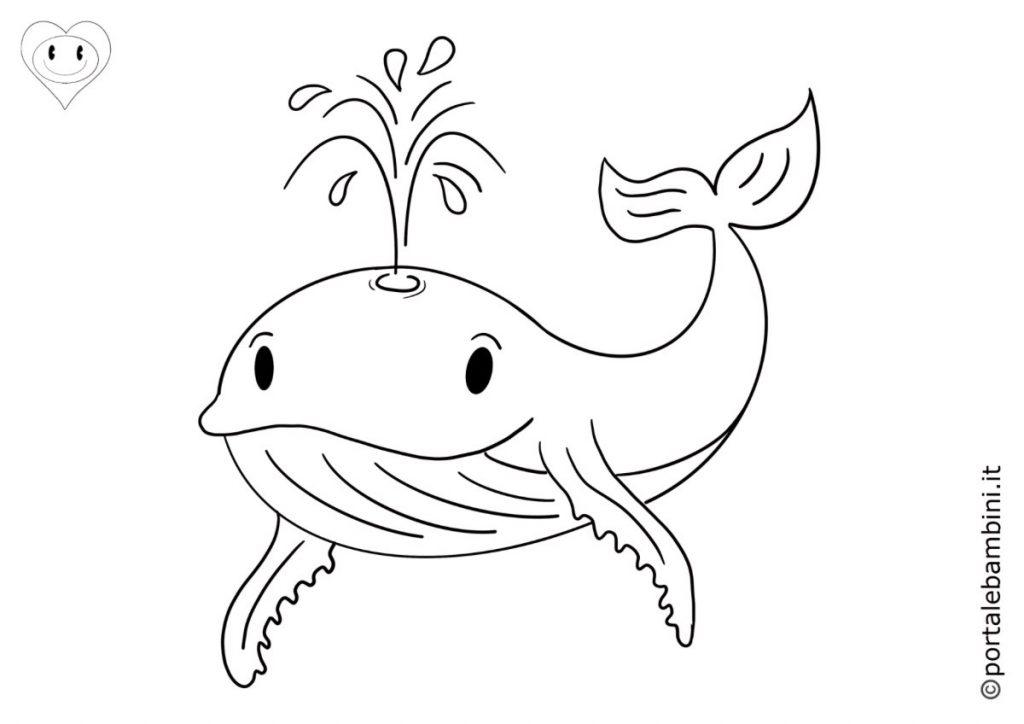 balene da colorare 5