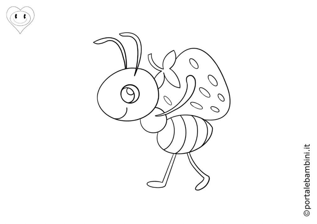 formiche da colorare 5