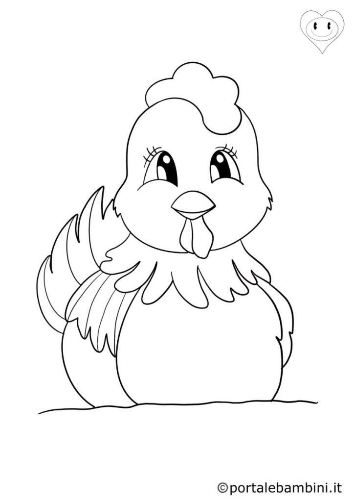 galline da colorare 6