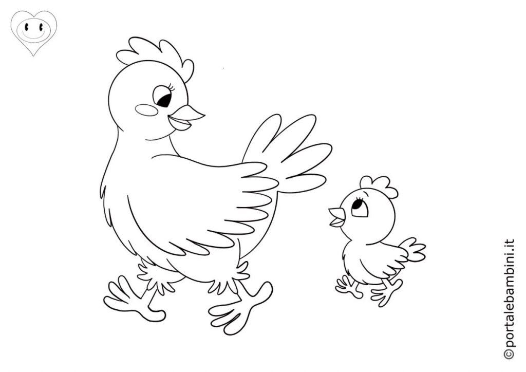 galline da colorare 2