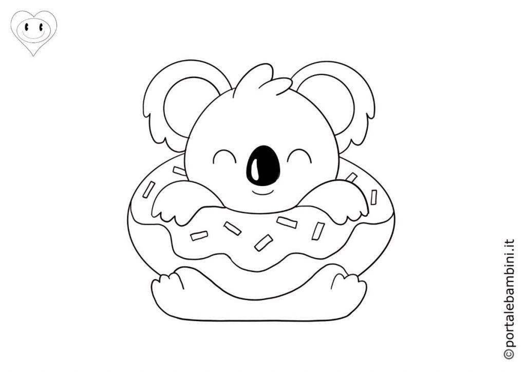 koala da colorare 6