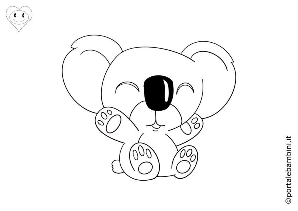 koala da colorare 5