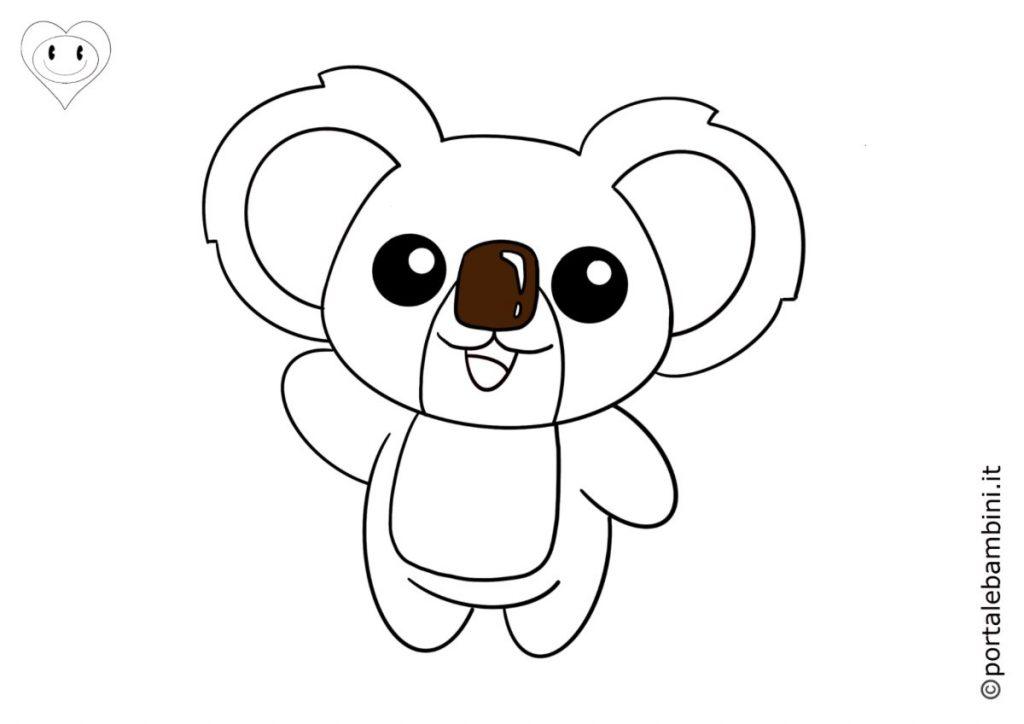 koala da colorare 4