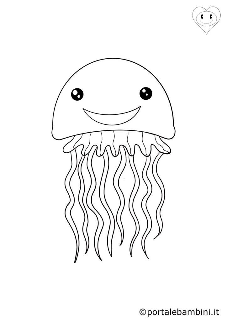 meduse da colorare 3