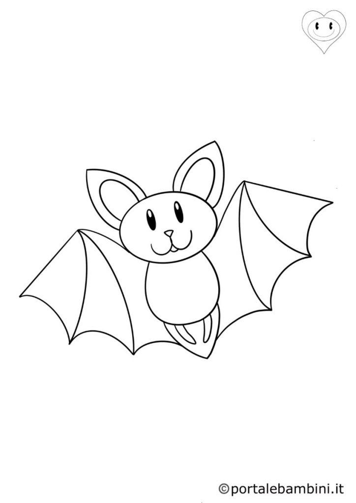 pipistrelli da colorare 1