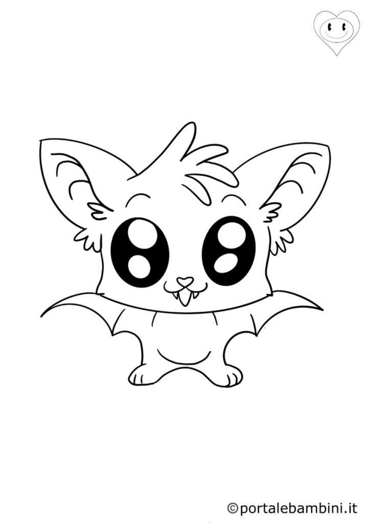 pipistrelli da colorare 3