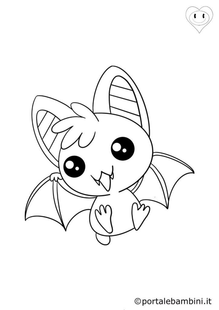 pipistrelli da colorare 2