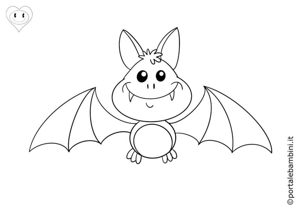 pipistrelli da colorare 6
