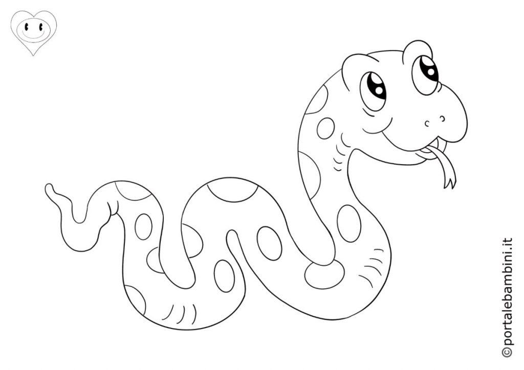 serpenti da colorare 1