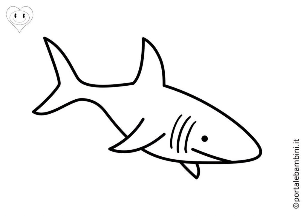 squali da colorare 2