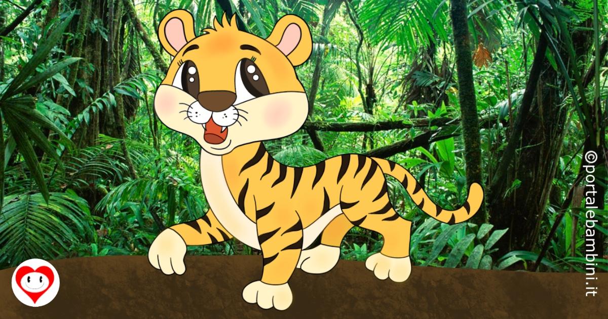 tigri da colorare