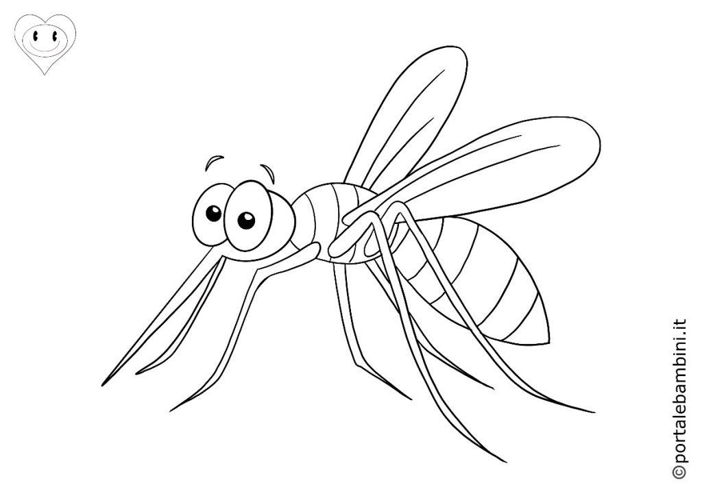 zanzare da colorare 1