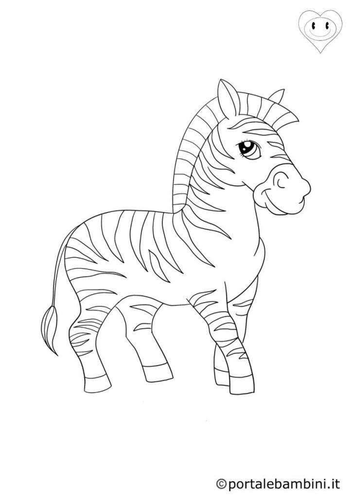 zebre da colorare 4