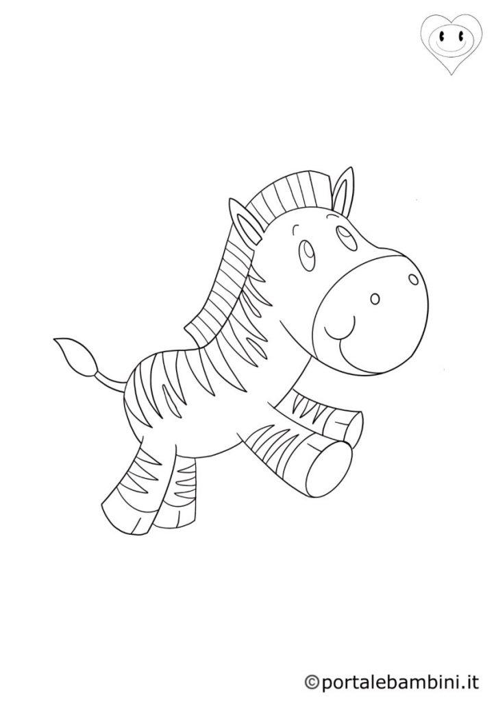 zebre da colorare 5