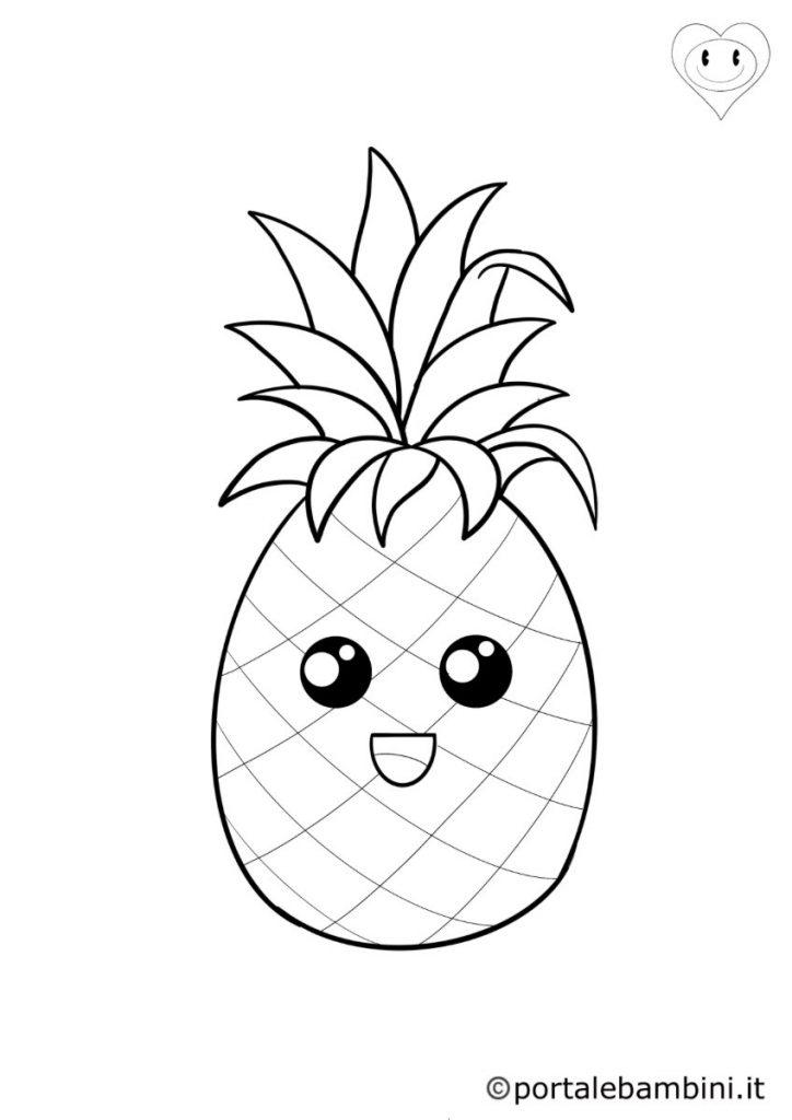 ananas da colorare 6